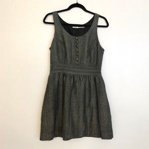 """Kimchi Blue"" Black/Grey Dress in Size 8"